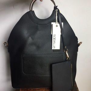 Isabelle Vegan Leather tote & wallet